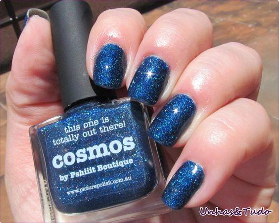 Começando com uma esmaltada azul, em apoio ao dia Dia Mundial do Autismo! =)
