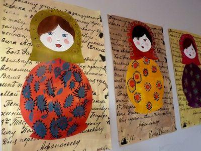 Matriochka - blog des écoles de Saint Pierre Lafeuille - Gigouzac