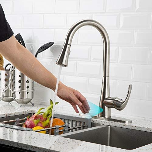 7 Best Touchless Kitchen Faucets Plus 1 To Avoid 2021 Buyers Guide Freshnss Kitchen Faucet Reviews Touchless Kitchen Faucet Kitchen Faucet