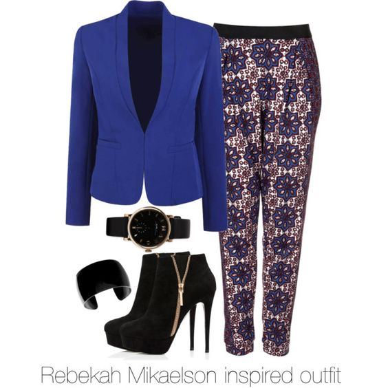 Rebekah Mikaelson inspired outfit/The Originals by tvdsarahmichele on Polyvore featuring Topshop, Forever New, MARC BY MARC JACOBS, TheOriginals, rebekahmikaelson and Clairholt