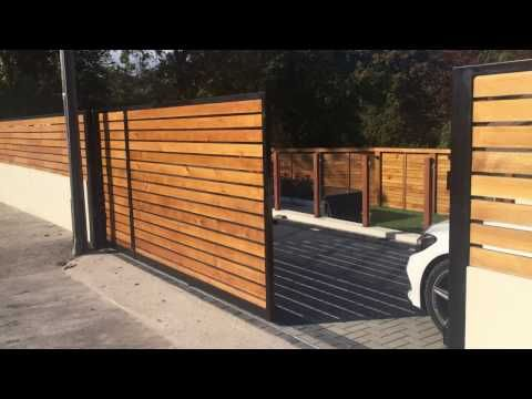 Discover Our Electric Gates And Automatic Gates By Gates And Fences Uk Range Of Electric Driveway Gates In 2020 Electric Sliding Gates Sliding Gate House Gate Design