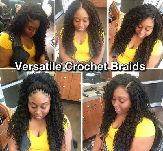 Crochet Braids Versatile : Versatile Crochet Braids Hair It Is! Pinterest Braids and ...