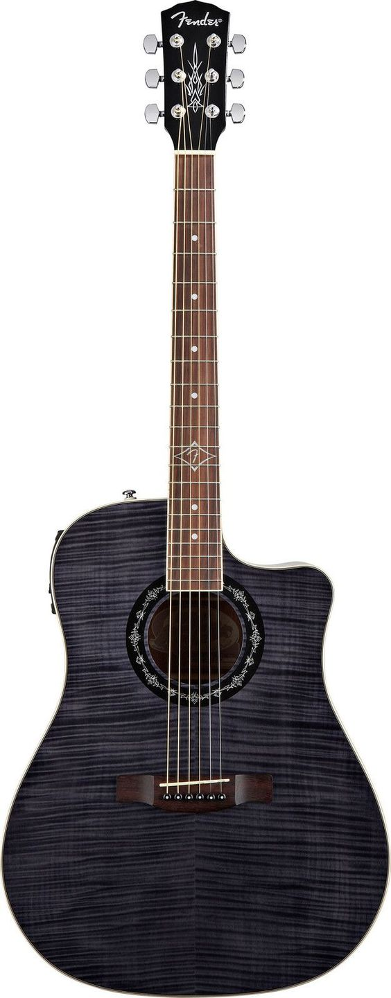 drooling over this gorgeous acoustic electric guitar fender t bucket 300 ce black 300 at. Black Bedroom Furniture Sets. Home Design Ideas