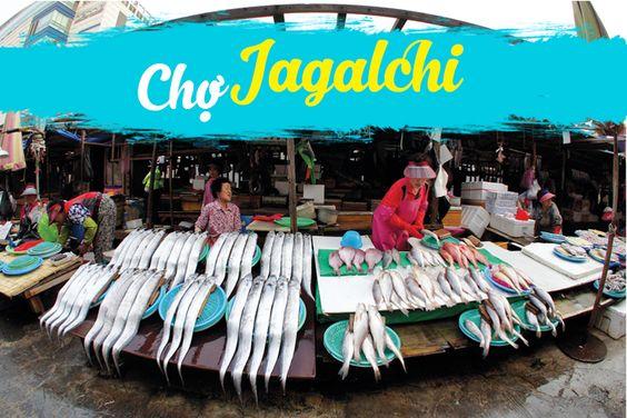 Chợ cá Jagalchi - Busan
