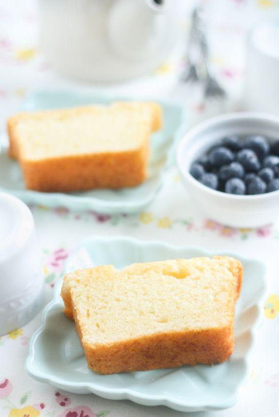 Vegan lemon sponge cake recipe