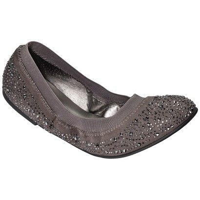 Women's Mossimo® Vanessa Jeweled Flat - Assorted Colors