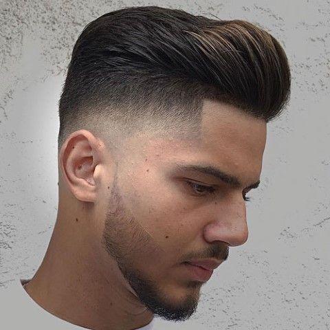 Pompadour Fade Haarschnitte Frisuren Hairstyle Hairstyles Naturalhairstyles Newhairstyle Menshairs Haarschnitt Coole Manner Frisuren Manner Frisur Kurz