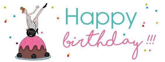La belle illu de Cécile pour notre 1er anniversaire !! Happy Birthday Pop Magazine !! - Illustration Cécile Carreaux-Thuilliez