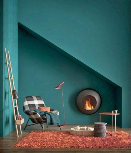 Pinterest le catalogue d 39 id es for Peinture murale tendance vert bleu