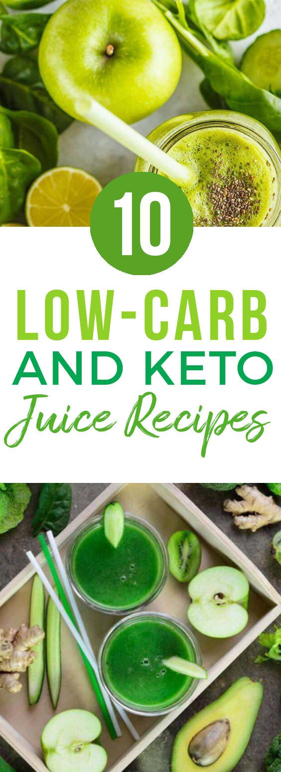 10 Low Carb Juice Recipes + Keto Juice Recipes