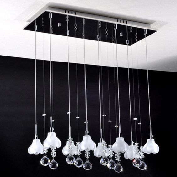 K9 Crystal Mini Chandelier with 8 Lights (¥19,540) ❤ liked on Polyvore featuring home, lighting, ceiling lights, chandeliers, crystal chandeliers, crystal chandelier lamp, glass crystal chandelier, crystal chandelier lighting, crystal mini chandeliers and crystal chandelier light