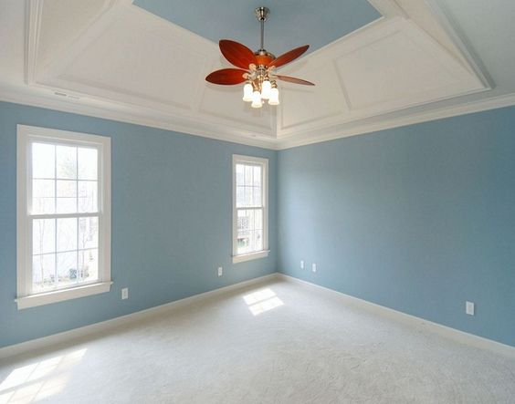 Best White Blue Interior Paint Color Combinations Ideas: how to select colors for house interior