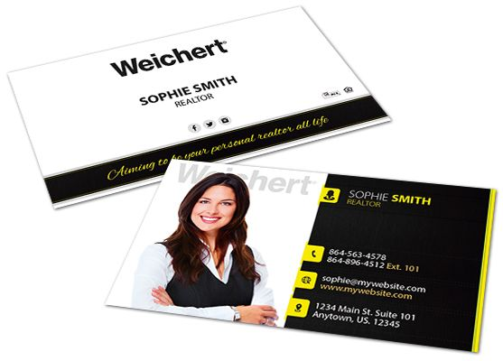 Weichert Realtors Business Cards Weichert Realtors Business Card Ideas In 2020 Realtor Business Cards Layered Business Cards Digital Business Card