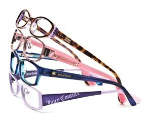the latest in safe and stylish kids frames juicy couture eyeglass