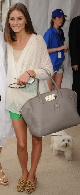 adorable summer style - love the bag!