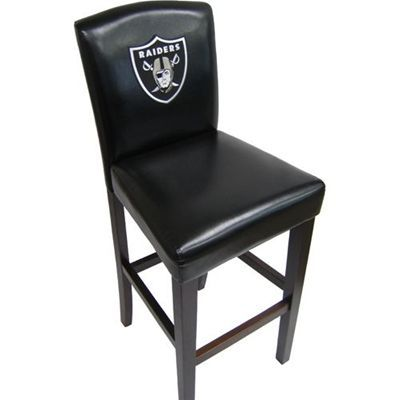 Oakland Raiders Pub Chairs