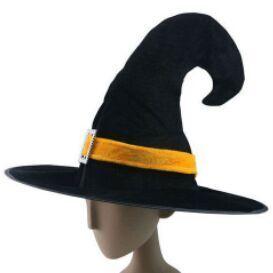 仮装コスチュームハロウィーン帽子パーティーハット装飾されたハロウィーン魔女の帽子