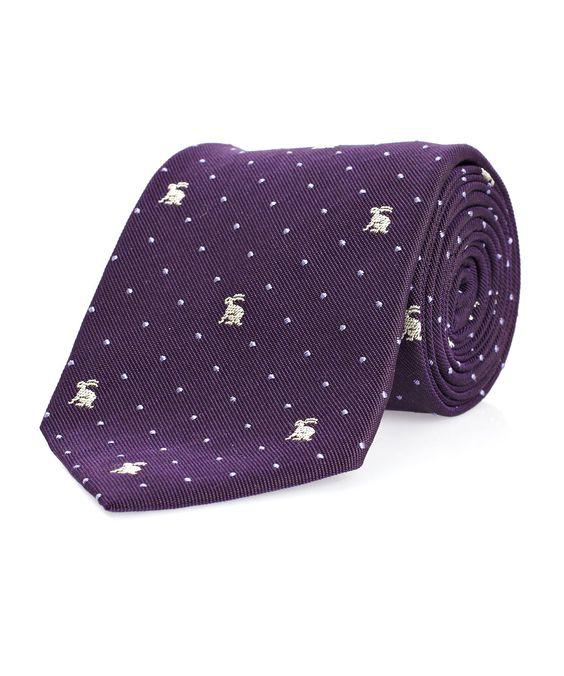 Corbata conejil
