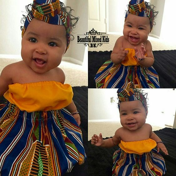 Mytholia - 5 Month • Haitian & Mexican ❤ FOLLOW @beautifulmixedkids on instagram