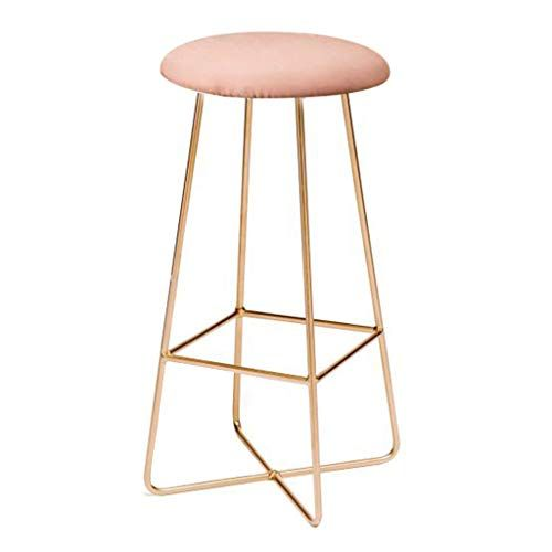 High Stool Round Barstools Chair Footrest High Stool Upholstered