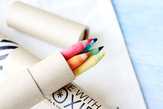 Rainbow recycled pencils - Write with Moxie $6.50 - For the kid packs?