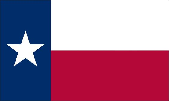 Texas State Flag Coloring Pages