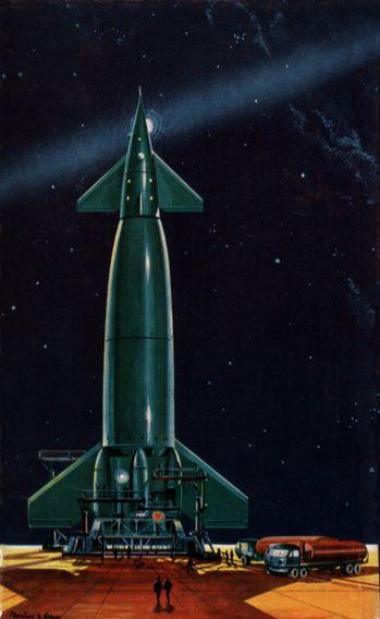 space illustration 1958