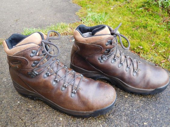 Details about MONARCH MERRELL REI GORE-TEX BROWN LEATHER HIKING ...