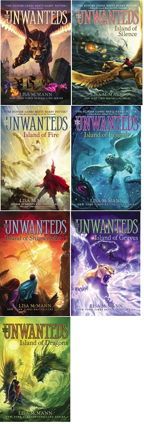 Fantasy Books By Lisa Mcmann The Unwanted Series 7 Books Fantasy Books Book Worms Books To Read
