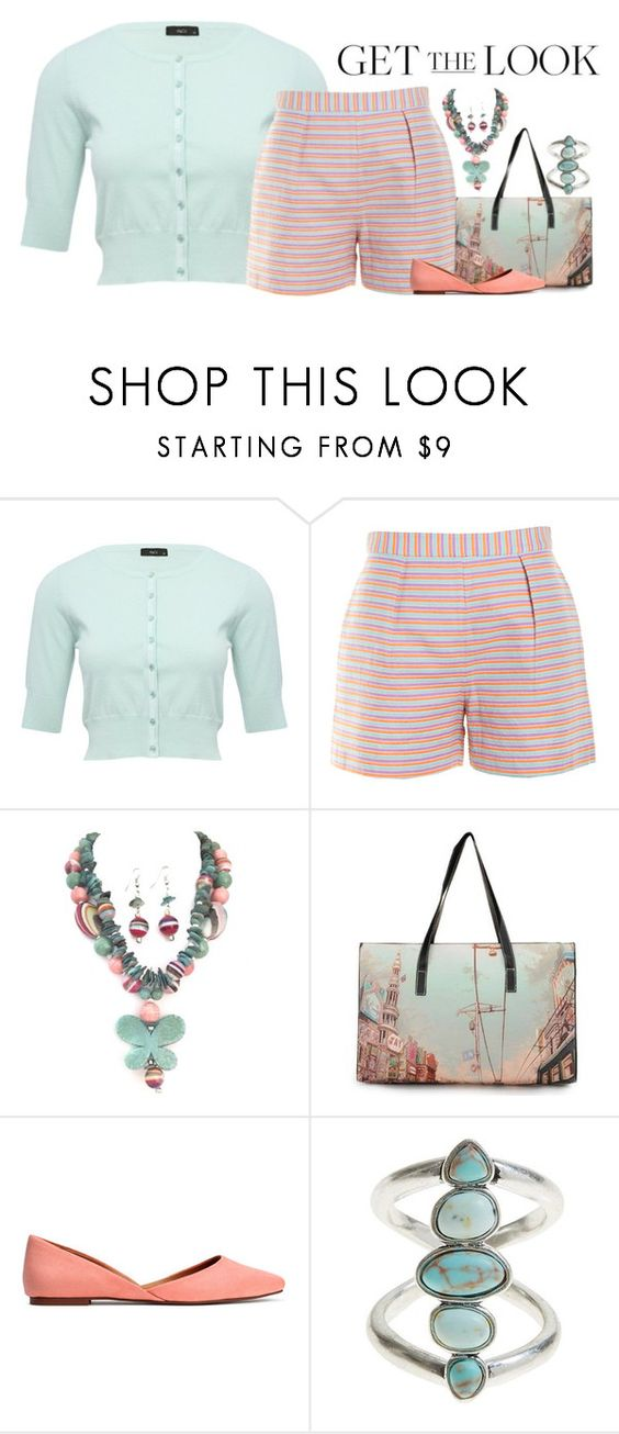"""Weekend Style: Under $150"" by alynncameron ❤ liked on Polyvore featuring M&Co, Hutch, Lucky Brand and GetTheLook"