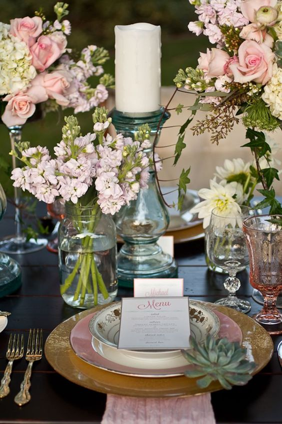Como decorar una boda country shabby chic original mesas - Decorar estilo shabby chic ...