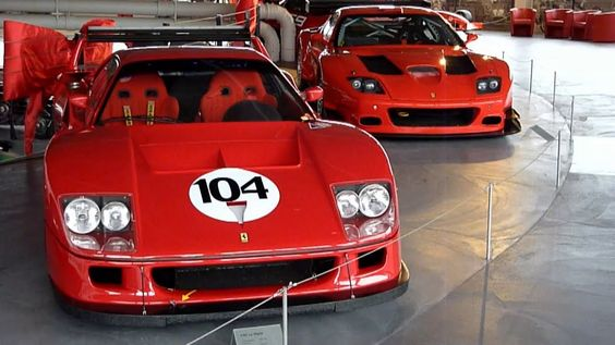 This Is A 1992 Ferrari F40 Lm It Has A 29 V8 Biturbo Engine With
