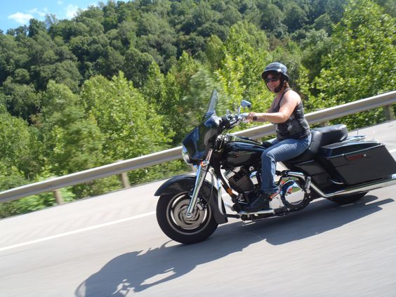 Another WV riding pic of Dorinda
