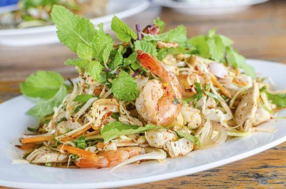 Recette - Salade comme un rouleau de printemps - Notée 4.2/5 par les internautes