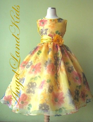 Wish this was yellow and GREY. Perf for Ariel if we all wear flower print.