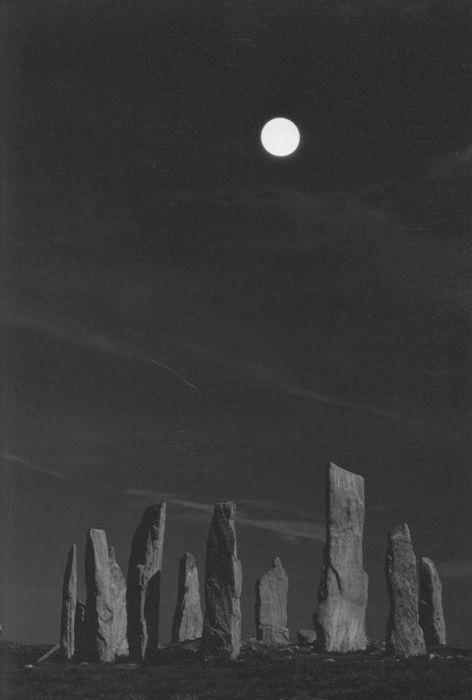 tiamhaidh:  Callanish Standing Stones - Lewis, Scotland:
