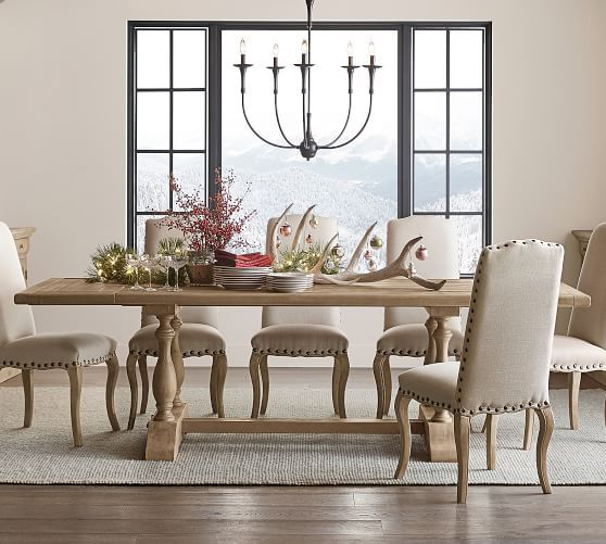 Parkmore Reclaimed Wood Extending Dining Table Dining Room Sets