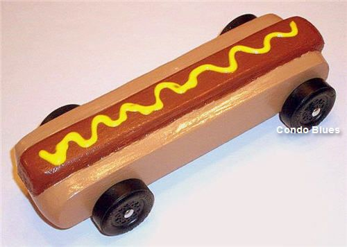 Hot Dog Pinewood Derby Car | Pinewood derby, Derby cars and ...