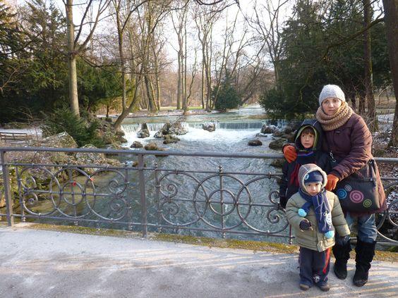 Múnich, Englischer Garten.