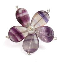 Floral Fusion Semi-Precious Flower designed by Claire Humpherson for Beads Direct