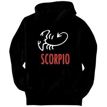 Scorpio - Cartoon Hoodie
