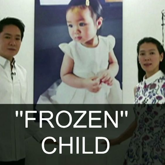 "15 OCT: Parents hope ""frozen"" child will live again #Thailand #Cyrogenics #Frozen #Child Two-year-old Thai girl Matheryn Naovaratpong became the youngest person to be cryogenically frozen her brain being preserved at the point of death. Her parents both of whom are medical engineers say they are ""100% convinced"" future scientific advances mean she will one day be restored to life. Watch more: bbc.in/frozen #BBCShorts @BBCNews by bbcnews"