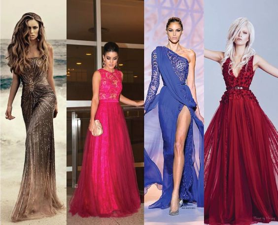 Os Mais Lindos Vestidos de Festa | Que se Ame