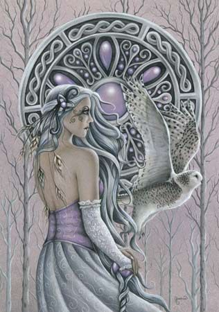 Arianrhod was one of the major Celtic Goddesses, known often as the goddess of the silver wheel. Worshipped as a goddess of feminine power, fertility, and the moon, Arianrhod played a very important part in Celtic mythology