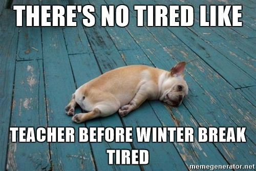 15 Teacher Memes That Perfectly Describe December Chaos Teacher Memes Funny Teacher Humor Teacher Tired