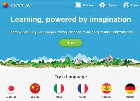 Apprendre les langues avec Memrise #education #enseignement #langues