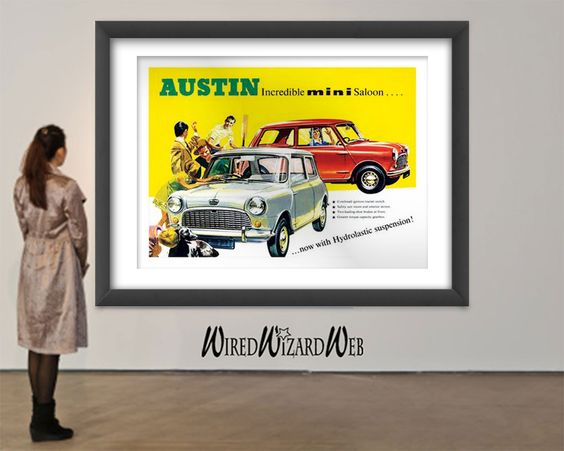1950s - Austin Mini Saloon // Now With Hydrolastic Suspension // New High…