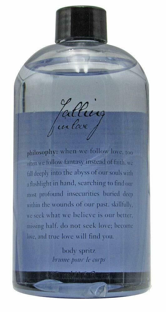 Philosophy Falling In Love Perfumed Shimmering Body Spritz Refill Size 16 Fl Oz Philosophy Shimmer Body Spritz Perfume