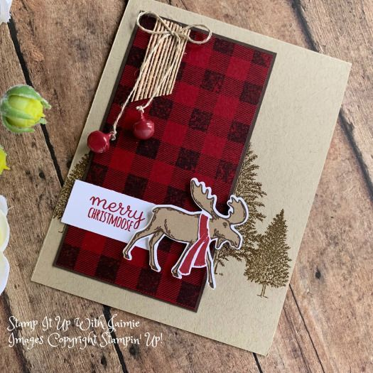 Stampin' Up! Merry Moose Video Tutorial – Stamp It Up with Jaimie