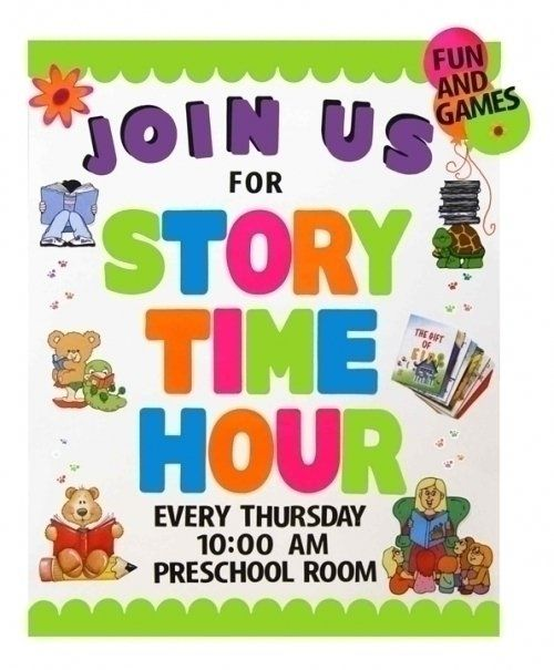 What are some quotes about preschool/storytime?